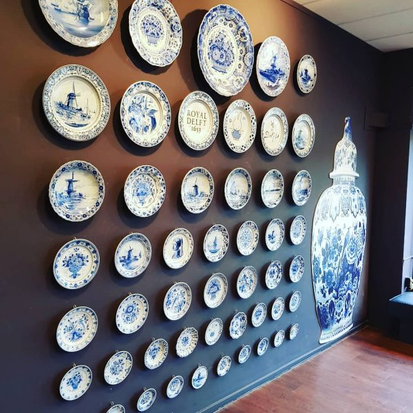 private tour Delft royal Delft blue pottery